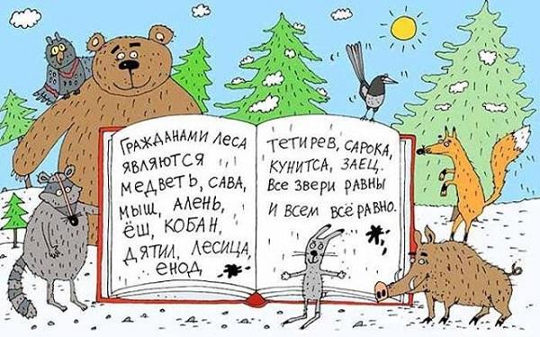 Передайте через Конституцию привет другу Васе из Омска