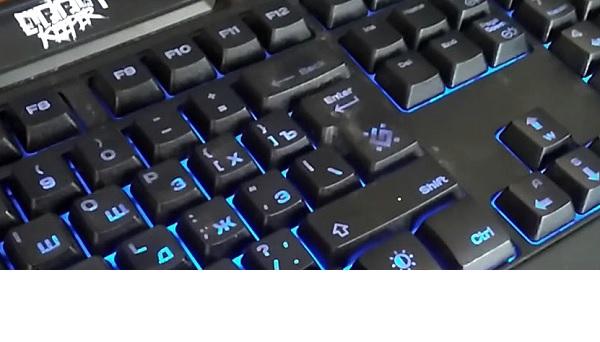 Cтираются буквы на клавиатуре, что делать?