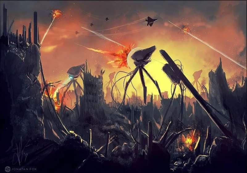 Вирусная атака на людей как новая Война миров