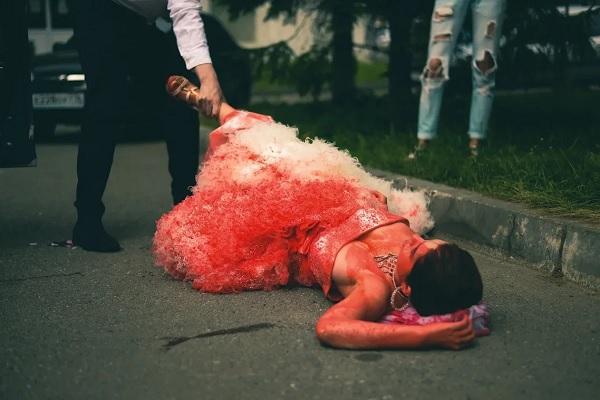 В Казани устроили «кровавую свадьбу»