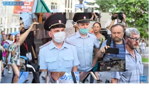 Полиция в Хабаровске начала жесткие репрессии и аресты