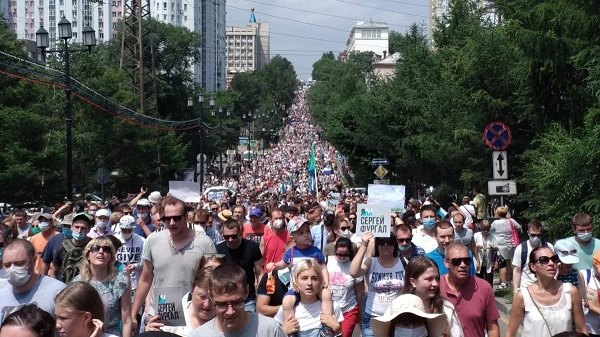 К чему могут привести протесты в Хабаровске?