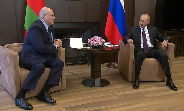 В Сочи проходит встреча Владимира Путина с Александром Лукашенко