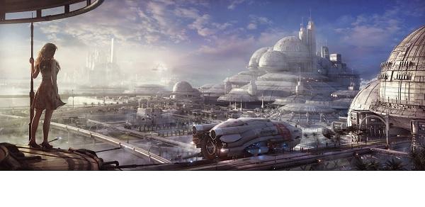 Если бы человечество развило свою цивилизацию до V-го типа, то как бы это выглядело