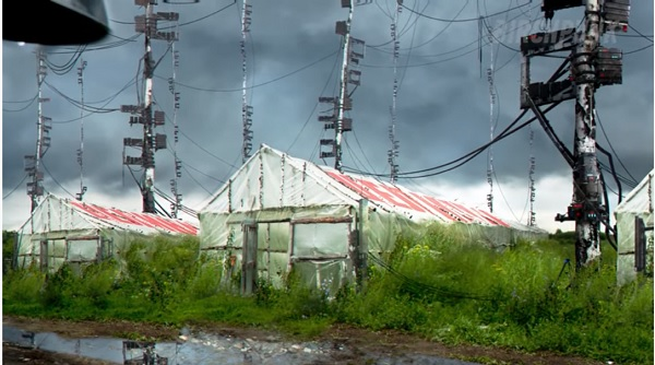 RUSSIAN CYBERPUNK FARM РУССКАЯ КИБЕРДЕРЕВНЯ СЫТНЫЕ САДЫ