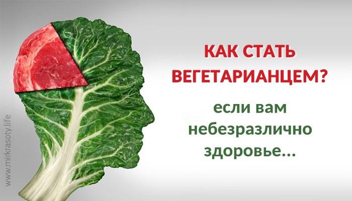 Если вы собираетесь стать вегетарианцем