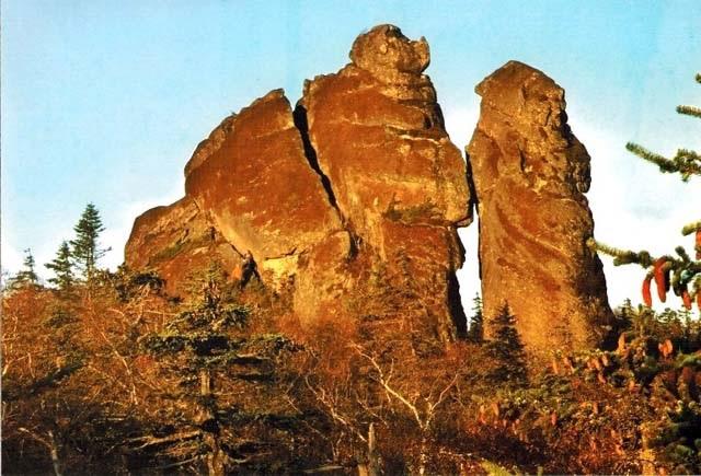 Амурские столбы-Камни из другого мира, из другого времени, из другой цивилизации