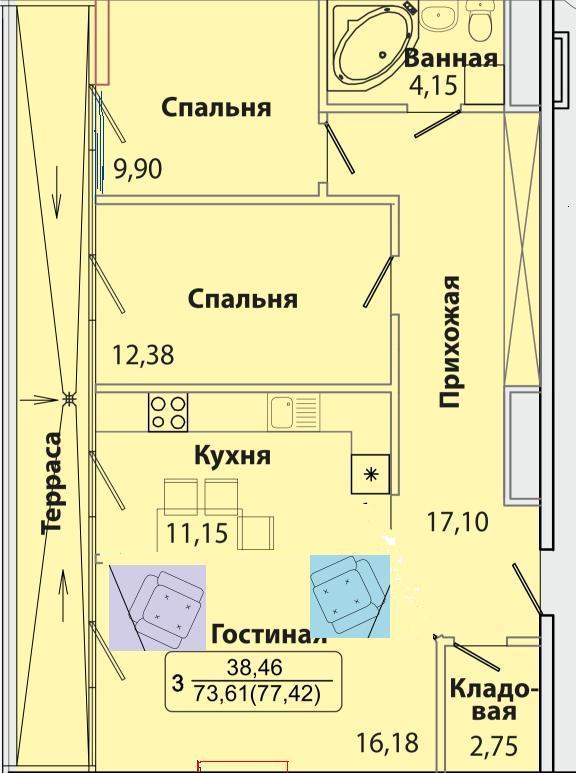 Квар _77 кв