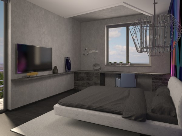 спальня лофт 51