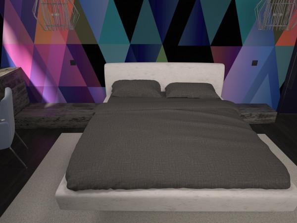 спальня лофт 55