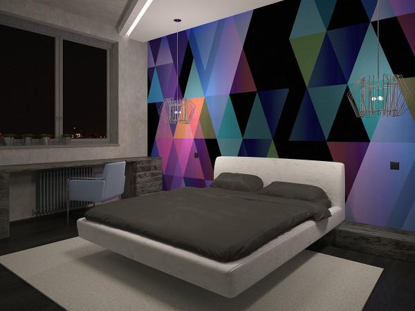 спальня ночь лофт 10