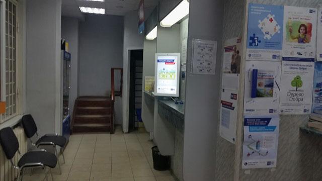 Новая установка - Digital signage мониторы на Почте России
