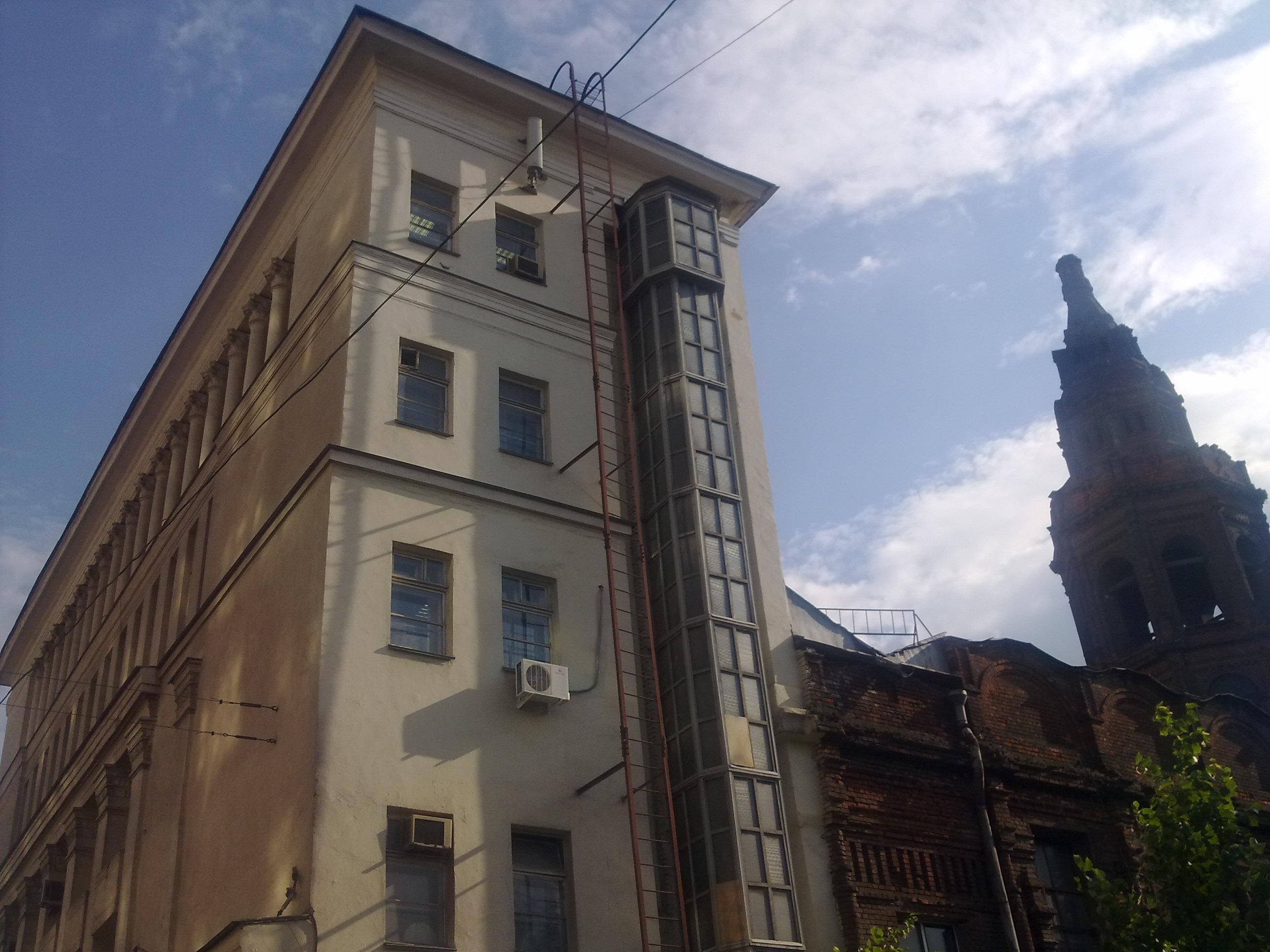 Вид здания киностудии