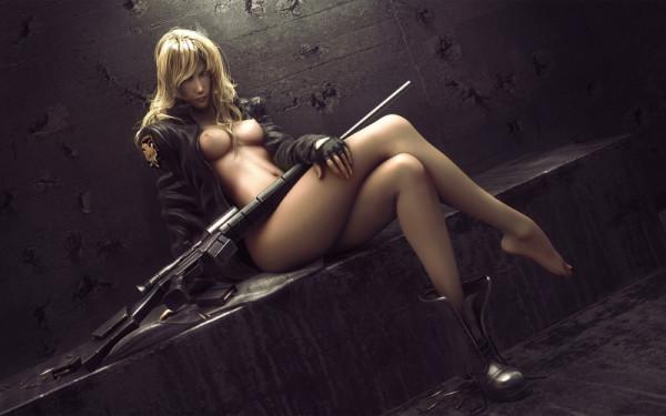 Оружие и эротика фото 331-268