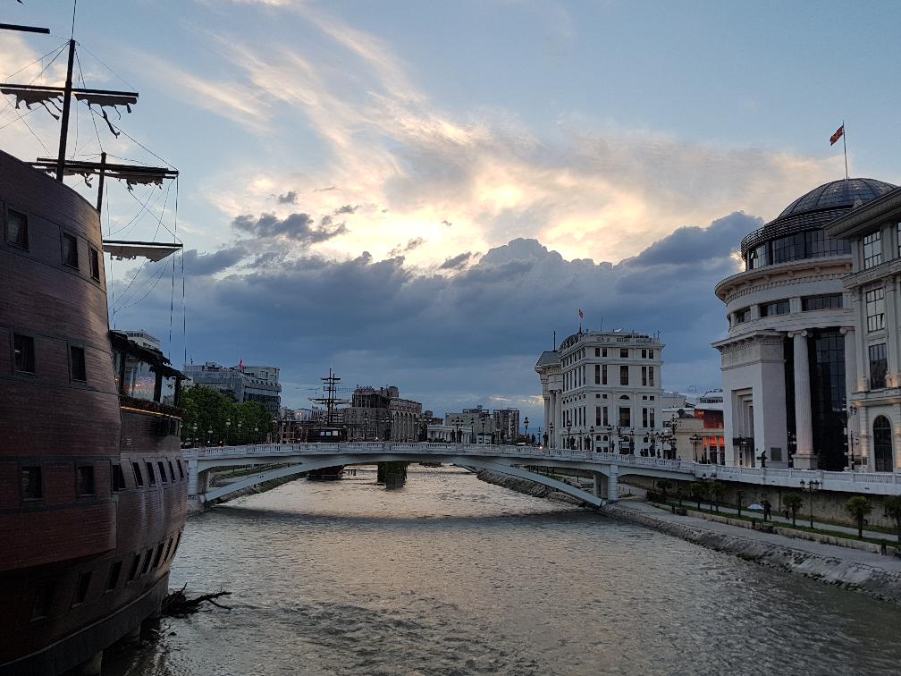 Фотоотчет о поездке в македонию выдали