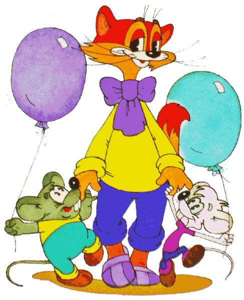 Кот леопольд и мыши текст