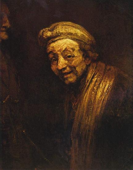 Рембрандт Автопортрет в образе Зевксиса