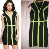 WOW COUTURE - V-neck dress - front — копия