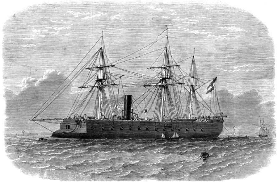 devon-the-kaiser-max-austrian-steam-ram-in-plymouth-sound-old-print-1865-143452-p