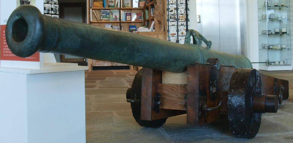 shetland-cannon-in-situ