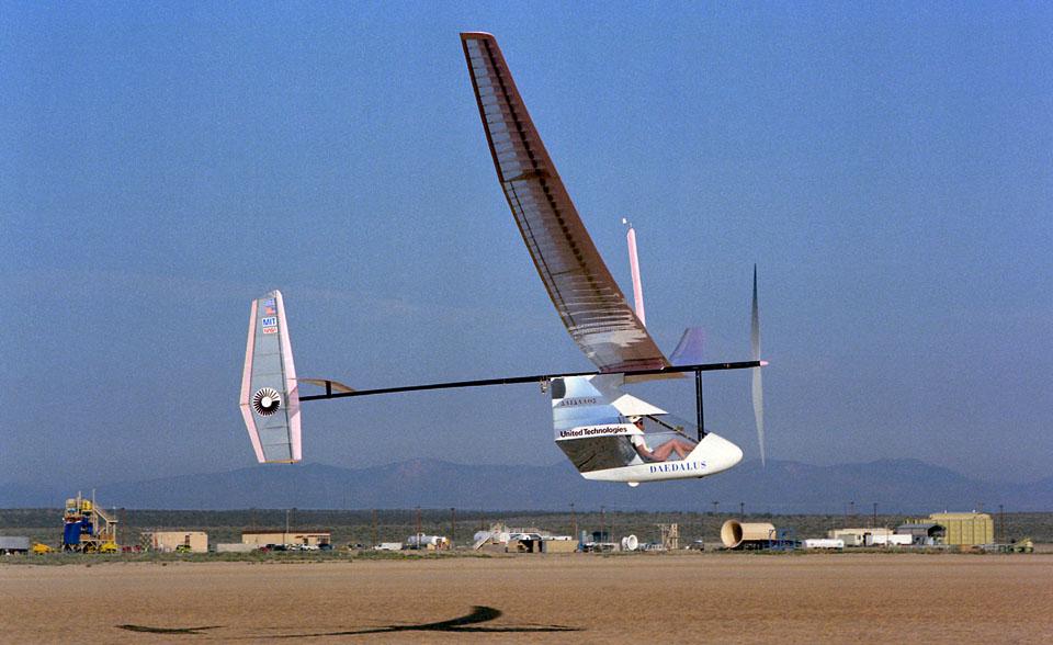 Daedalus-human-powered-aircraft