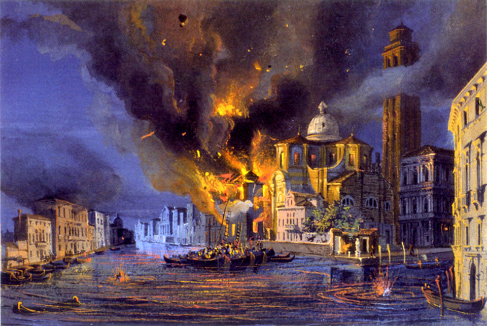 Assedio_Venezia_Chiesa_San_Geremia_(1849)