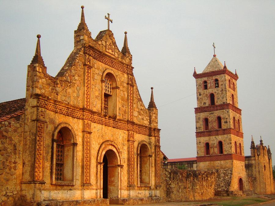 iglesia de la chiquitania