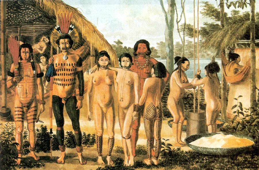 Indios-Tupi-Guarani