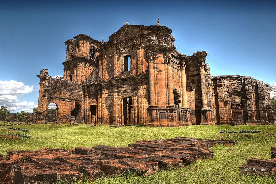 Ruina jesuitas- paraguay