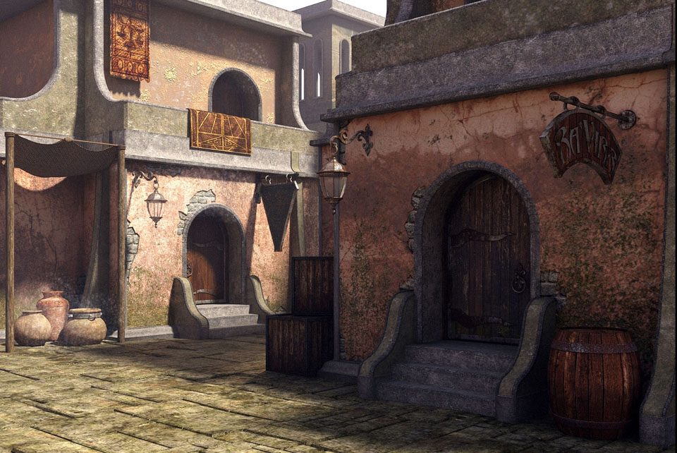 midday_in_balmora_by_minomi9-d5x8f5t