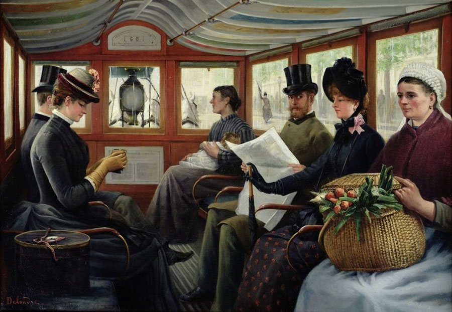 Maurice Delondre Omnibus (1880)