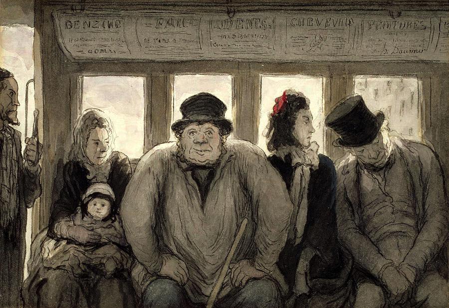 the-omnibus-honore-daumier