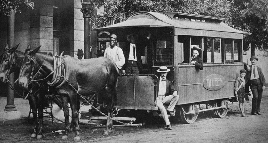 Horse Drawn  Railway Washington GA 1908