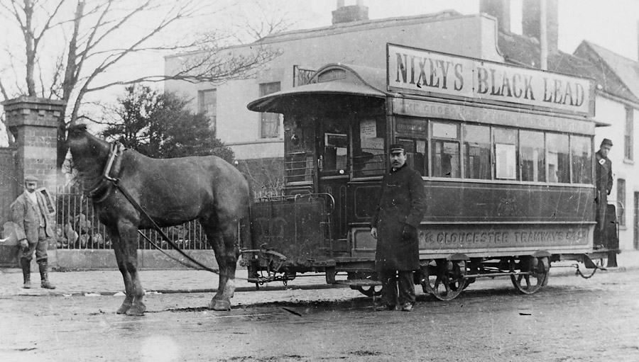 SR38_29157_8_Horse_Tram_at_India_House_1897