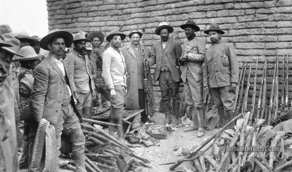 pancho_villa_with_members_of_his_army._mexico._1914