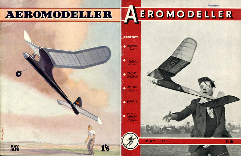 AEROMODELLER COVER MAY 1950