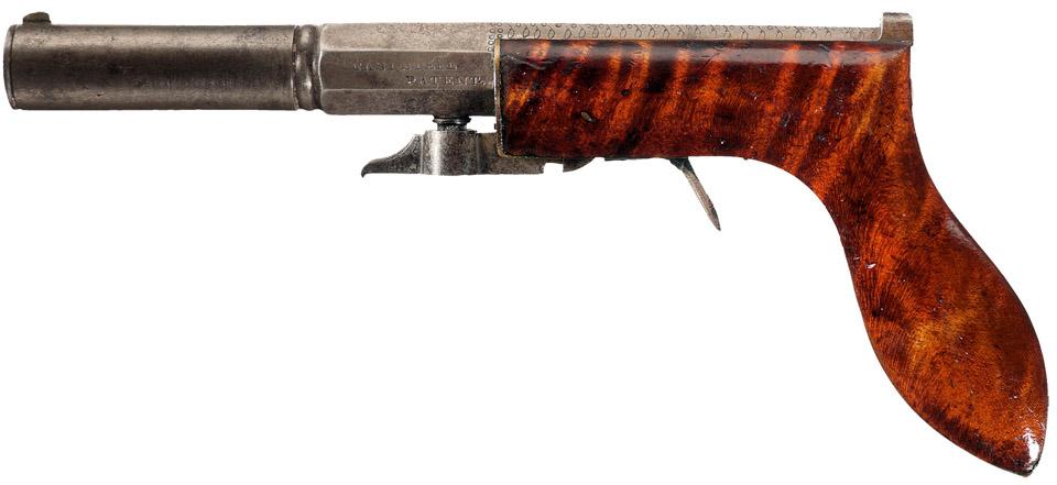 Case Willard & Co. Underhammer Pistol