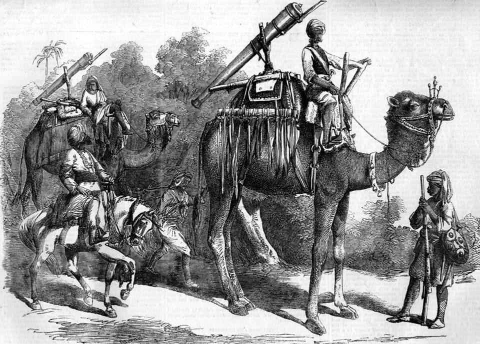 india-indian-mutiny-camel-jingalls-antique-print-1858-145769-p