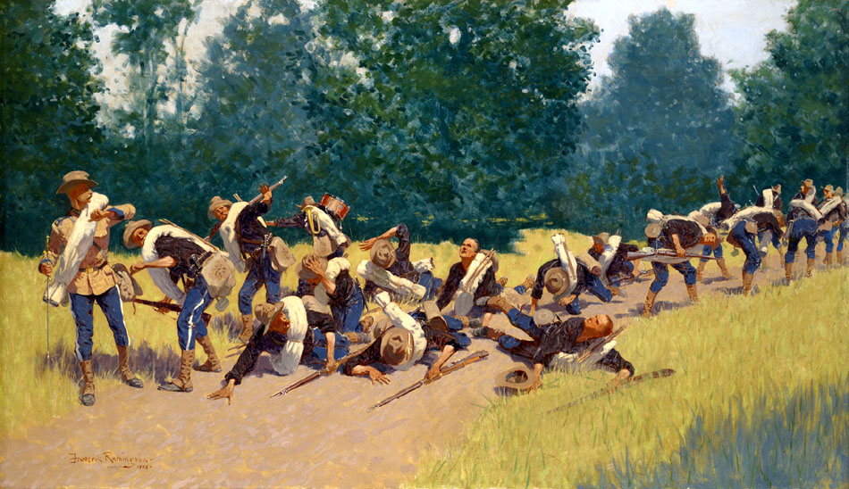 The_Scream_of_Shrapnel_at_San_Juan_Hill_by_Frederic_Remington_1898.jpeg