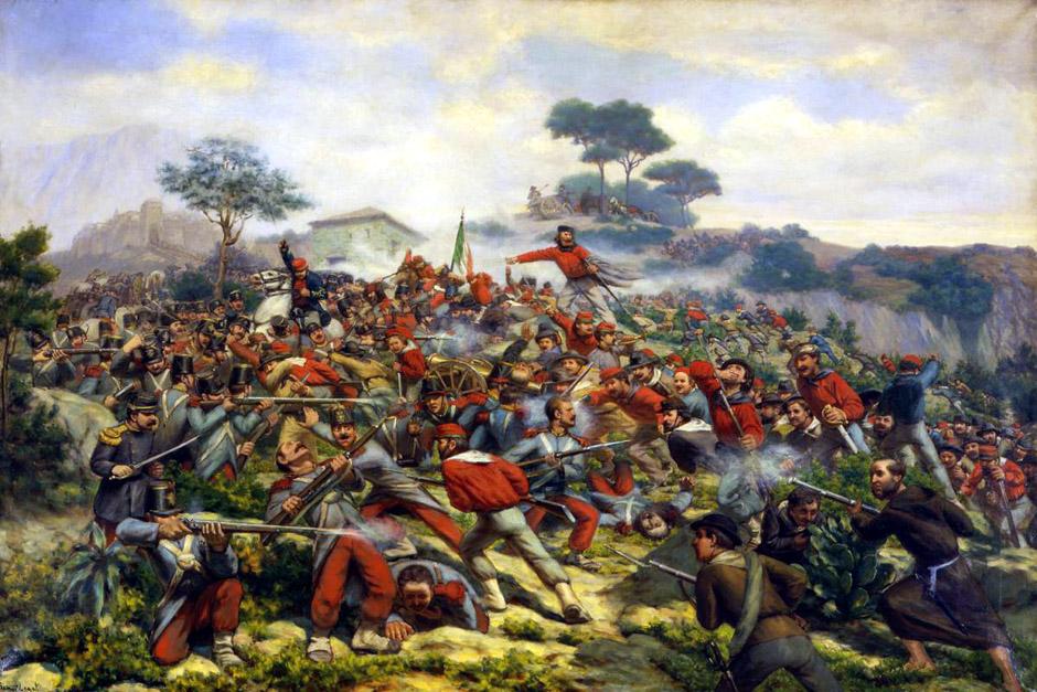 Battaglia di Calatafimi - Remigio Legat