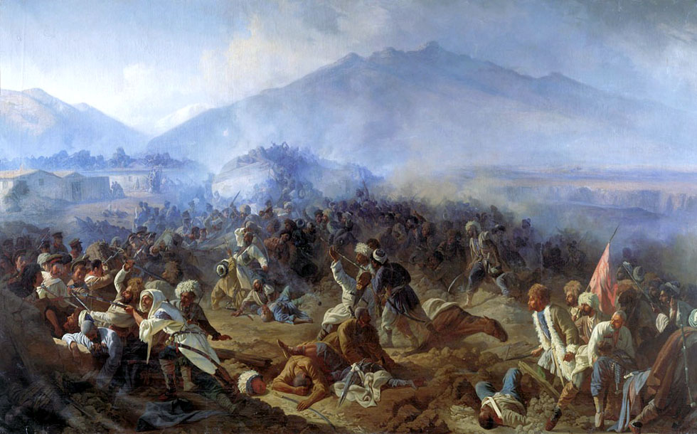 Storm_of_the_fortress_of_Akhty_shamil1848