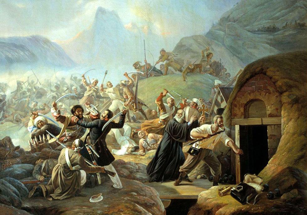 Подвиг рядового 77-го пех Тенгинск полка Архипа Осипова 22 марта 1840 года А. А. Козлов