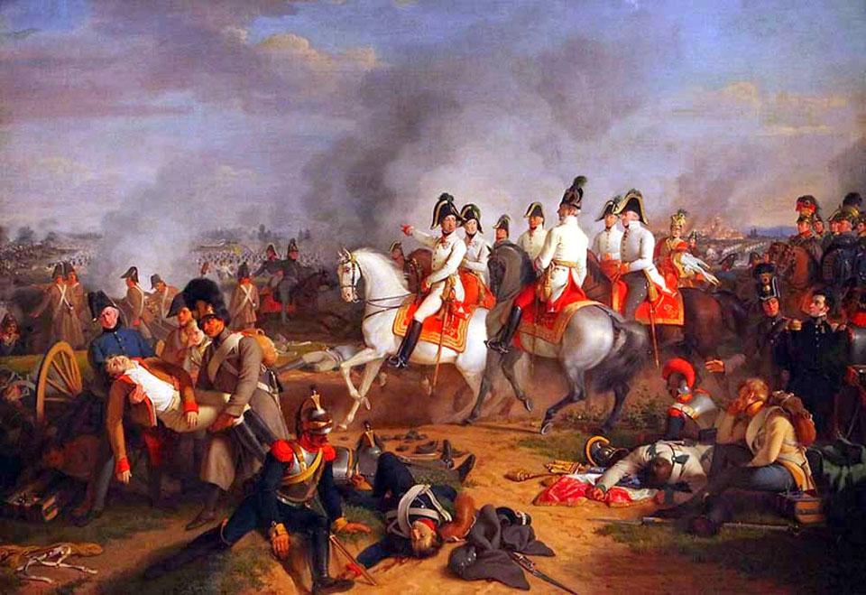 Битва под Асперном 21-22 мая 1809 г (Иоганн Петер Крафт)