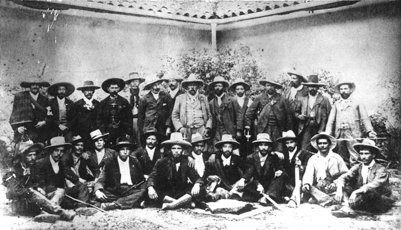 liberals general benito ulloa 1901