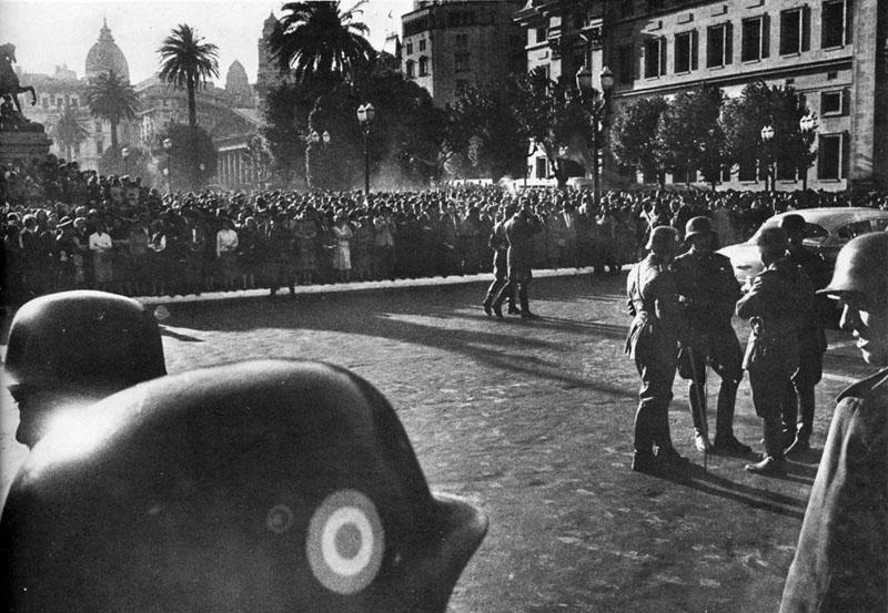 Plaza de Mayo 1955
