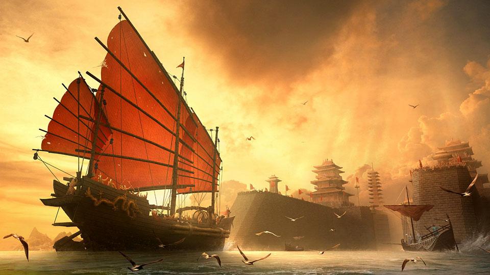 Triumphant Return Of The Ming Dynasty Naval_1800