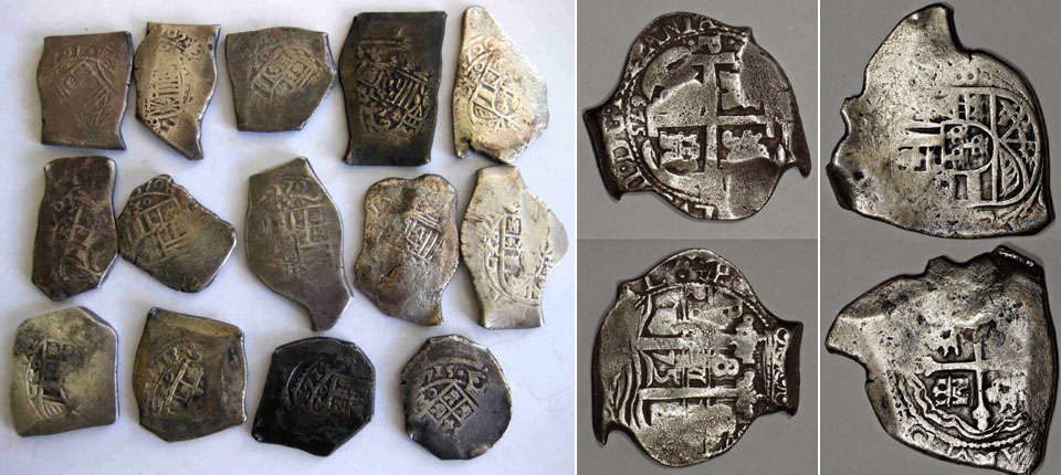Run-of-Mexico-silver-8-Reales-from-1701-to-1715