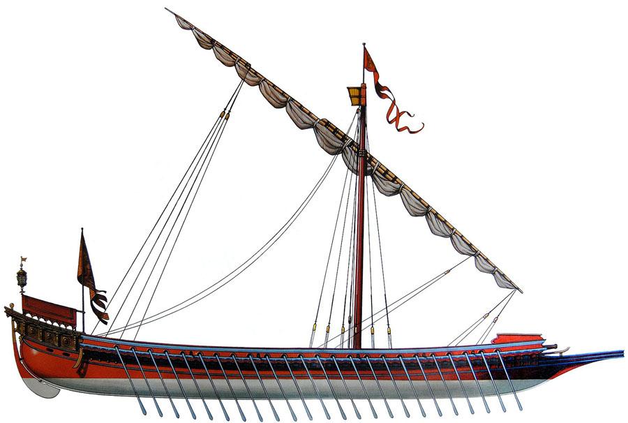 galley XVI
