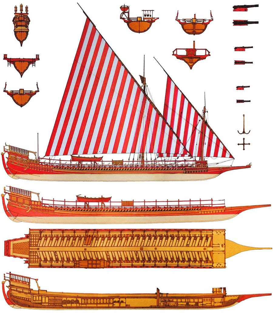 spanish galley