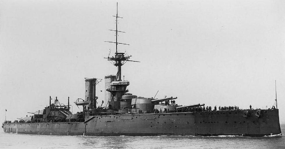 HMS AUDACIOUS-2-1913-1914.